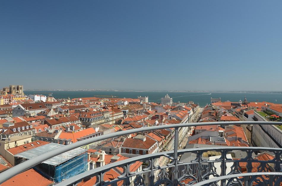 Lisbonne avec vue sur la mer