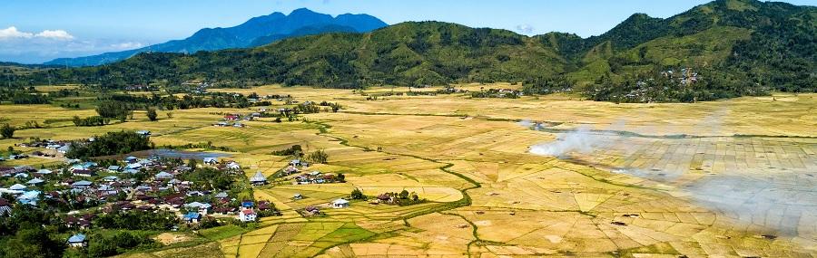 Paysage de l'Indonésie