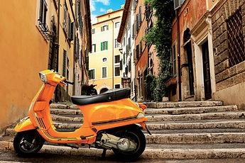 Rome en Vespa